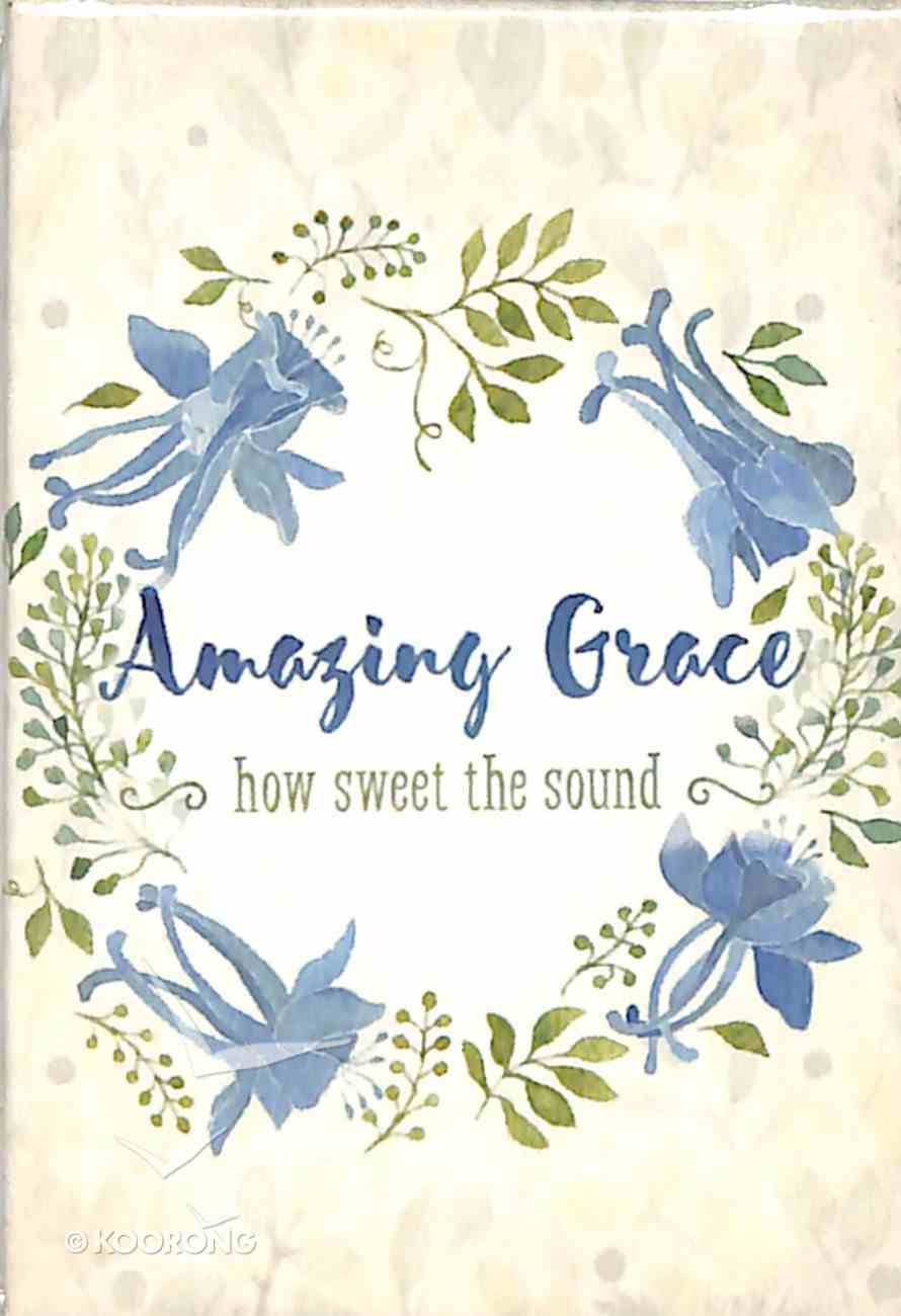 Magnet With a Message: Amazing Grace (Colored Wreath) Novelty