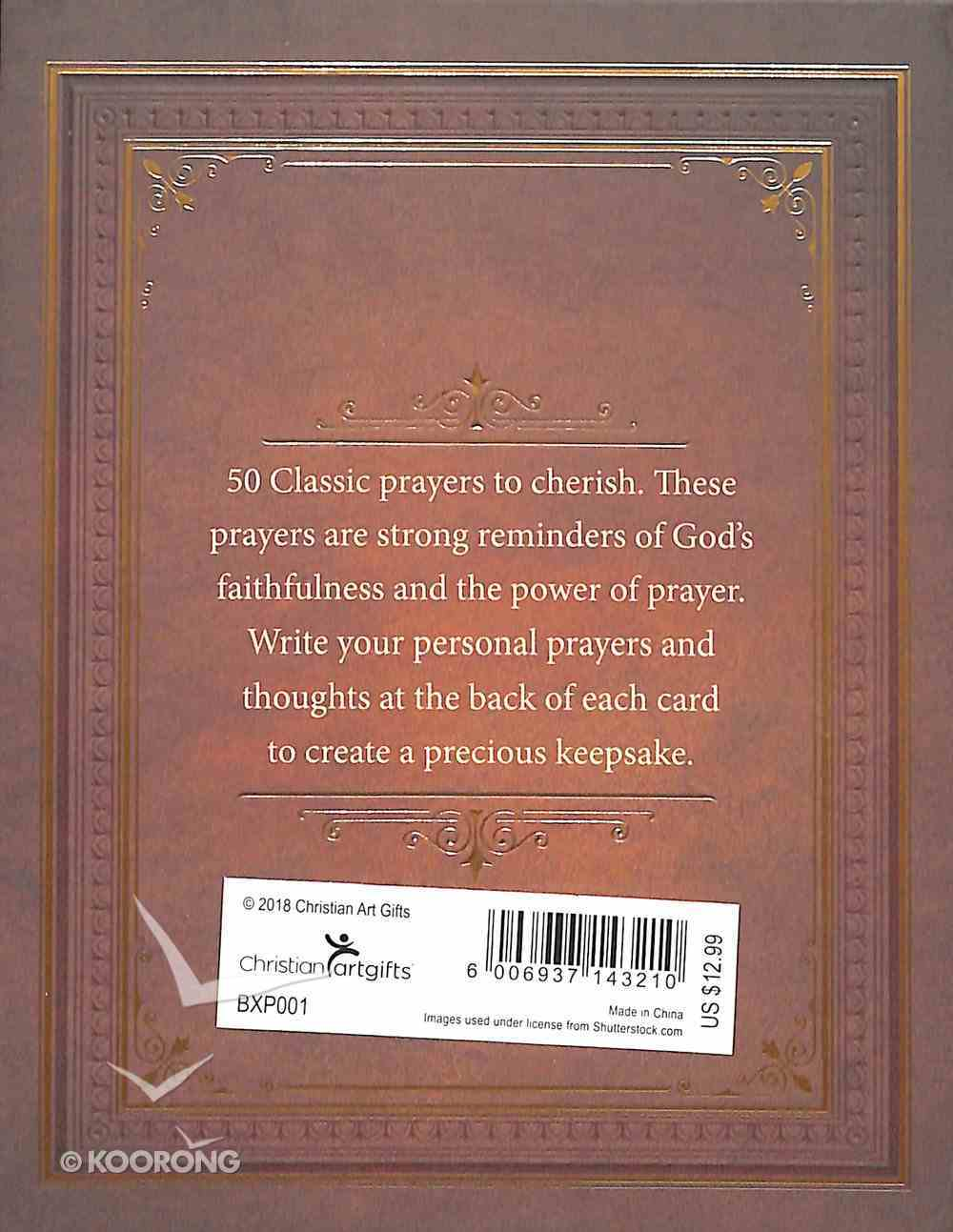 Boxed Cards: Classic Prayers Box