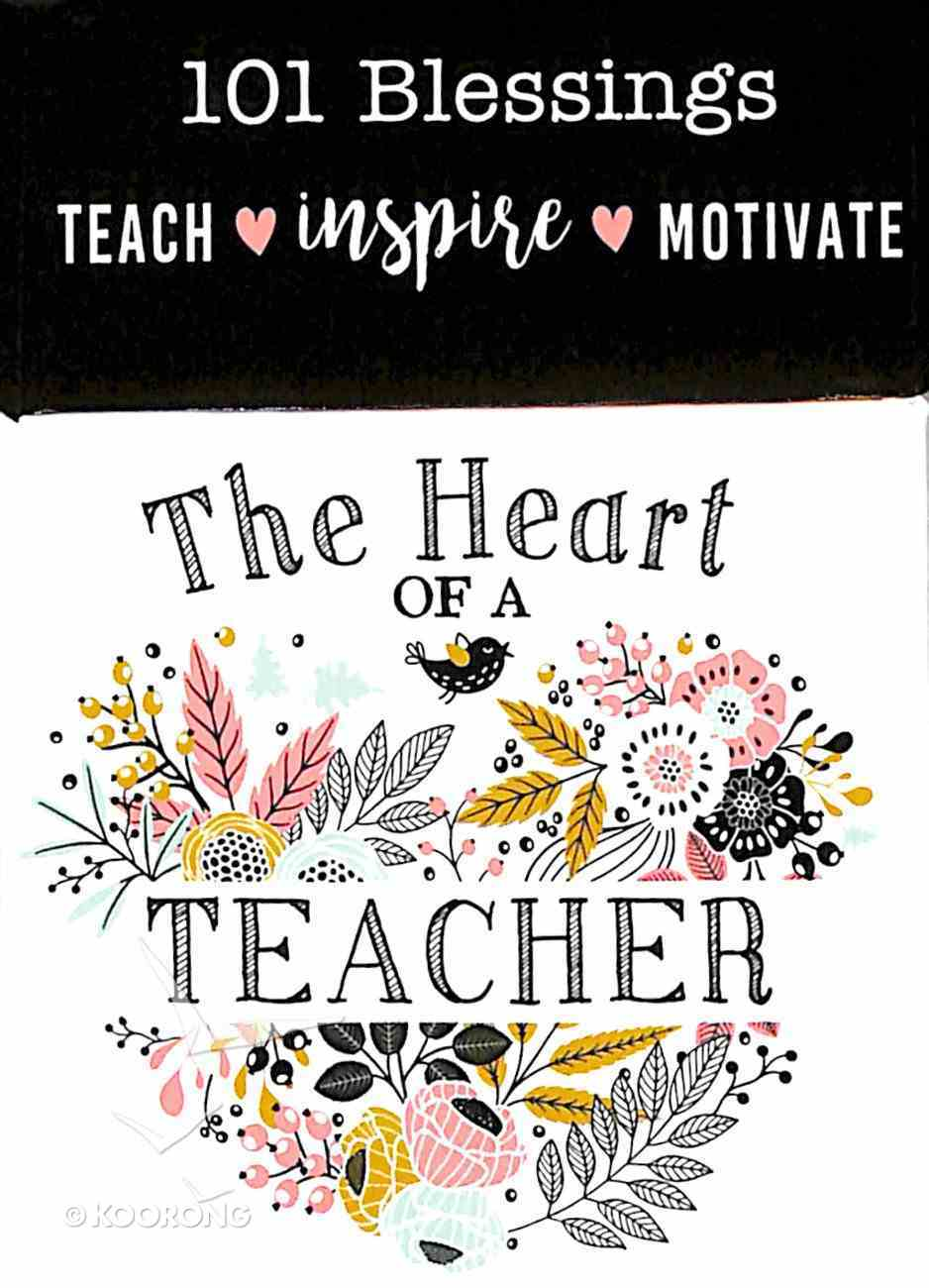 Box of Blessings: The Heart of a Teacher Box