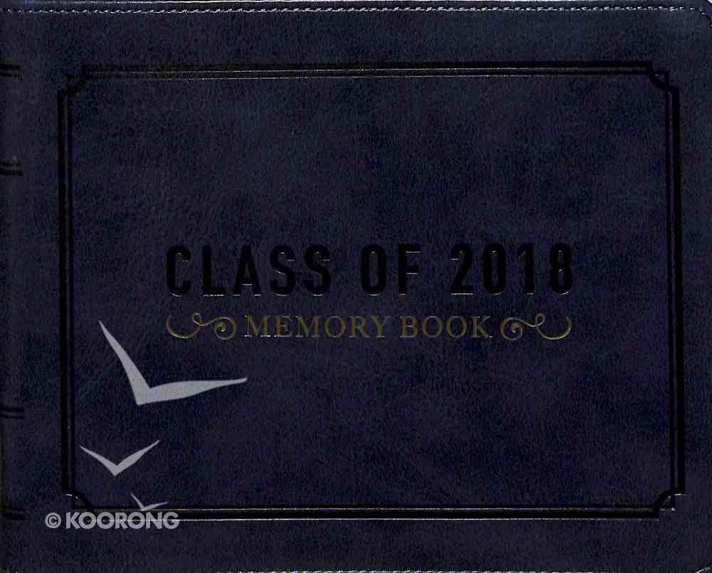 Guest Book: Graduation, Navy Luxleather Imitation Leather