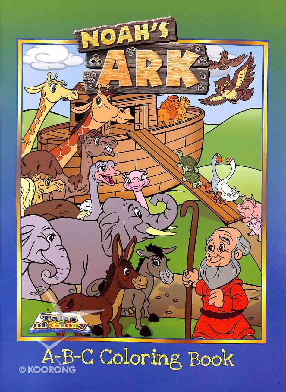 Colouring Book: Noah's Ark A,B,C's Paperback