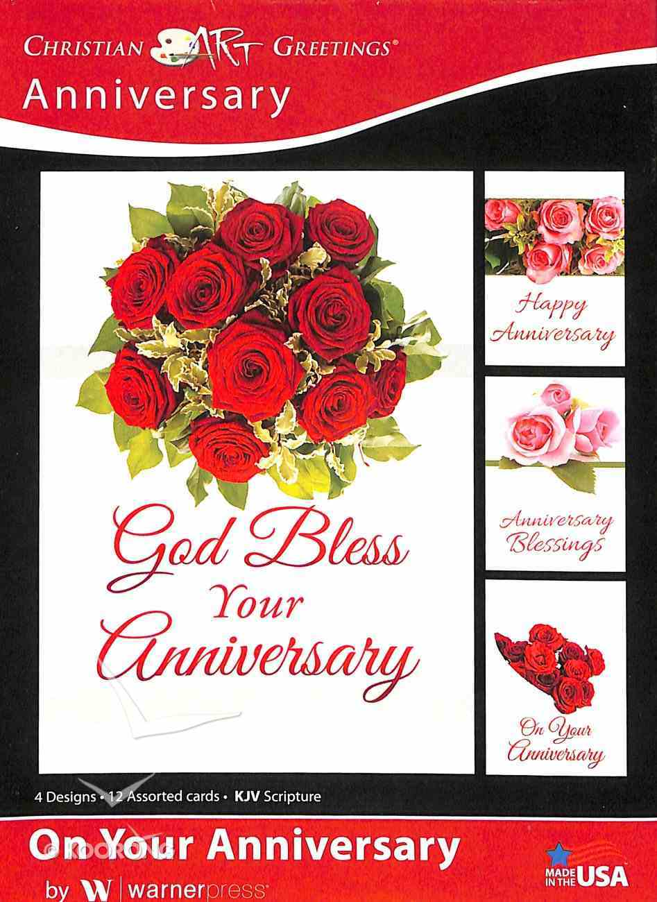 Boxed Cards: Anniversary - on Your Anniversary (Kjv) Box