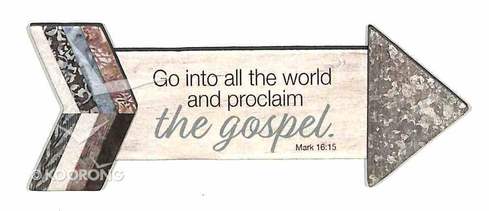 Pathway Magnets: Go Into All the World and Proclaim the Gospel (Mark 16:15) Novelty