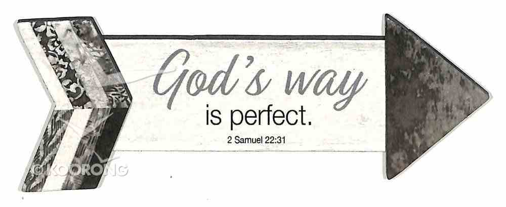 Pathway Magnets: God's Way is Perfect (2 Samuel 22:31) Novelty
