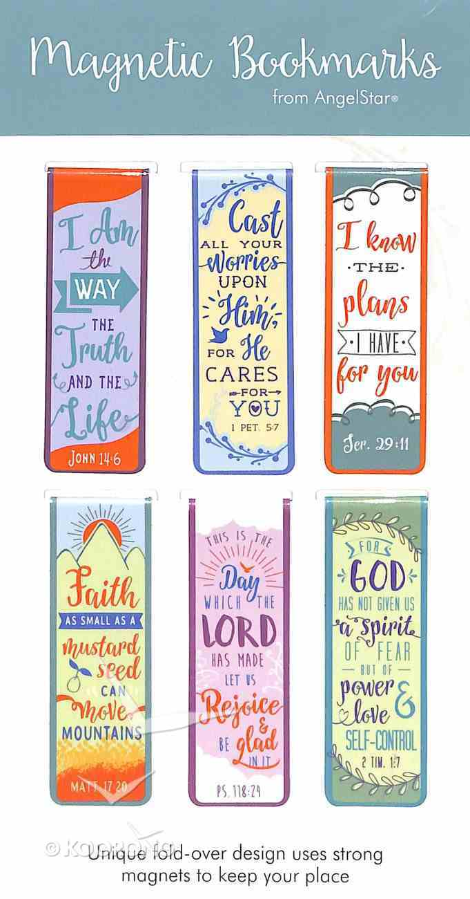 Bookmark Magnetic: I Am the Way, the Truth and the Life..... (Set Of 6) Stationery