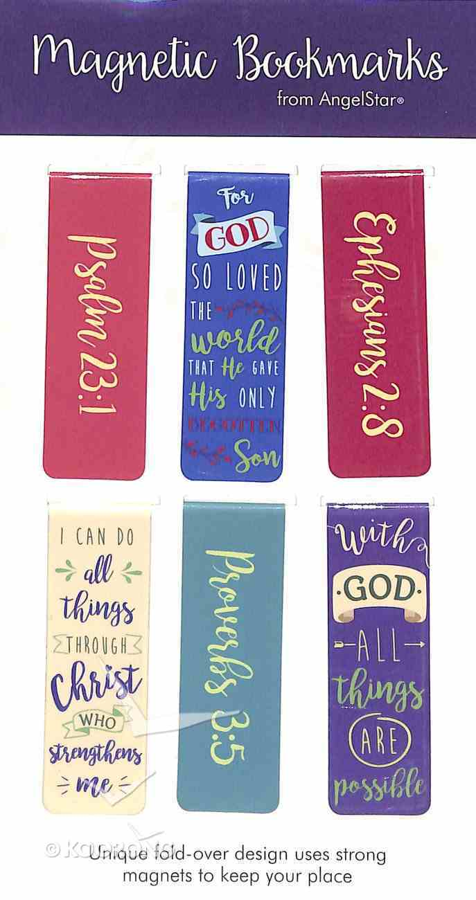 Bookmark Magnetic: With God All Things Are Possible..... (Set Of 6) Stationery