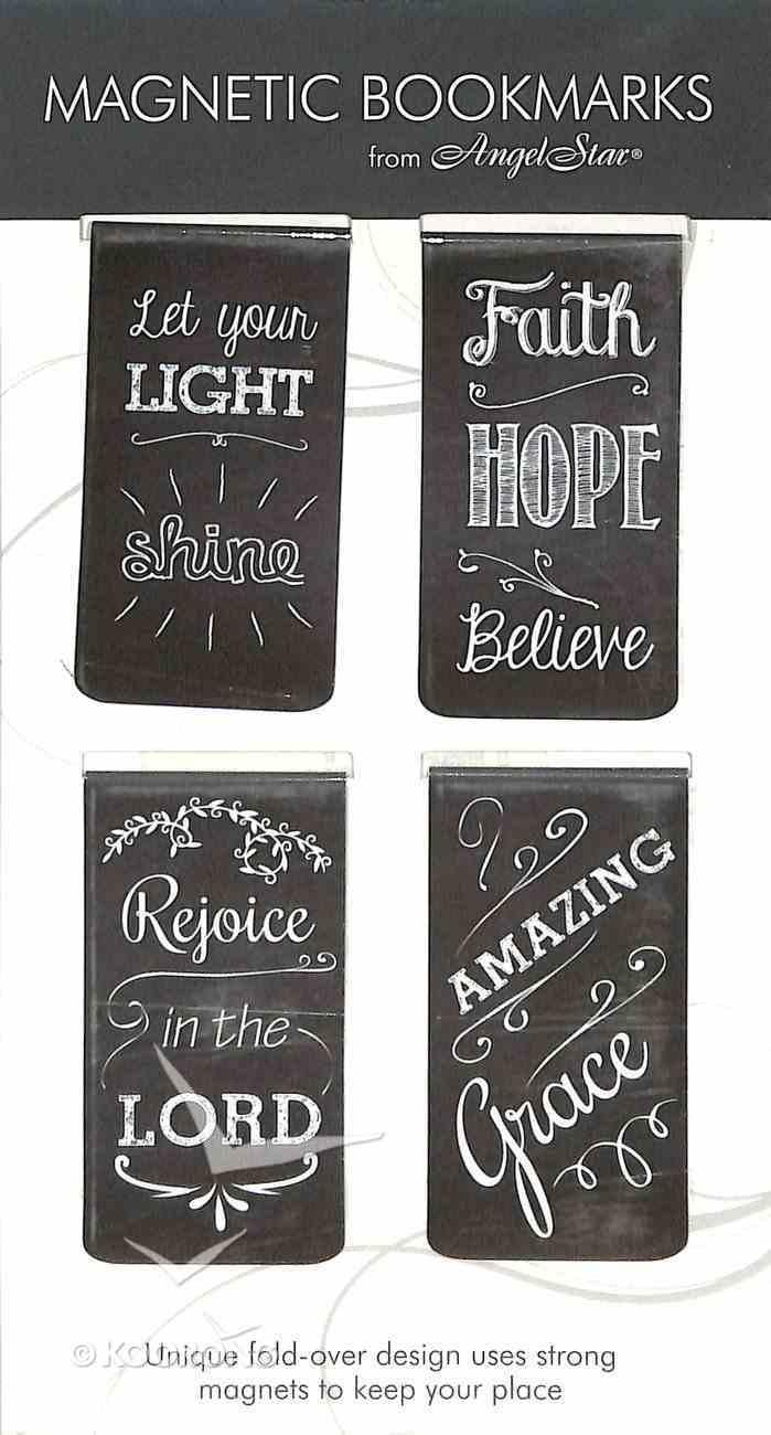 Bookmark Magnetic: Chalkboard Assortment (Set Of 4) Stationery