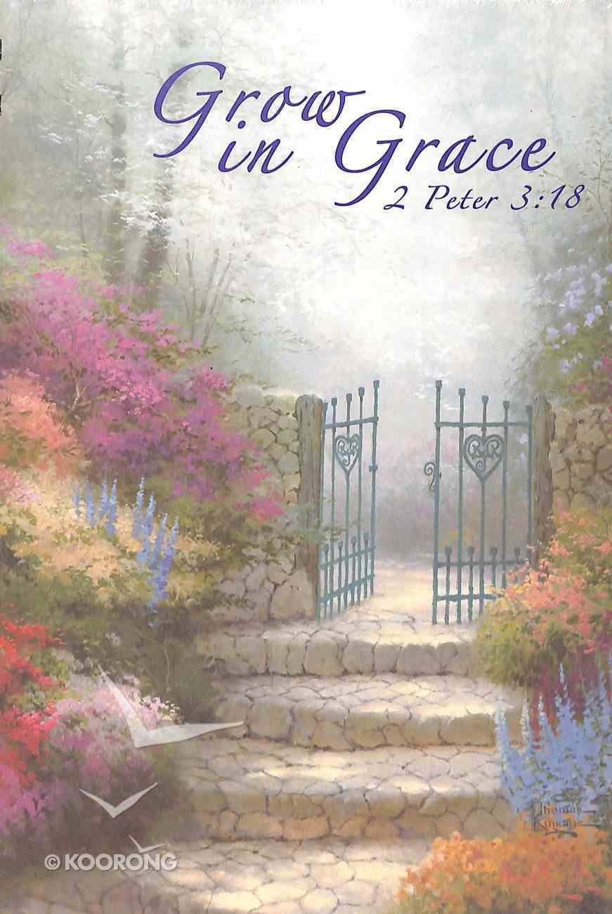 Journal Thomas Kinkade: Garden of Promise Spiral