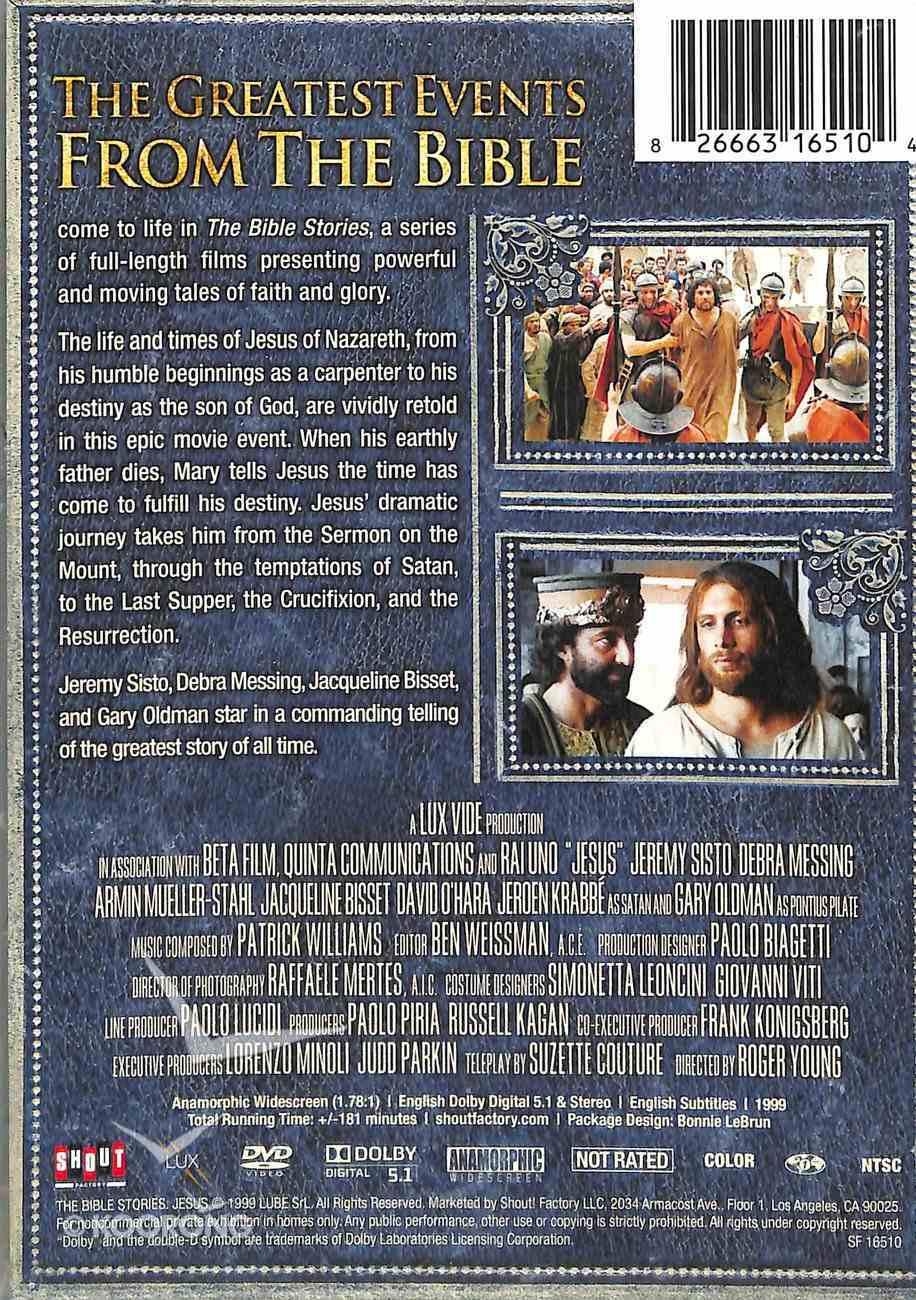 Jesus (Time Life Bible Stories Dvd Series) DVD