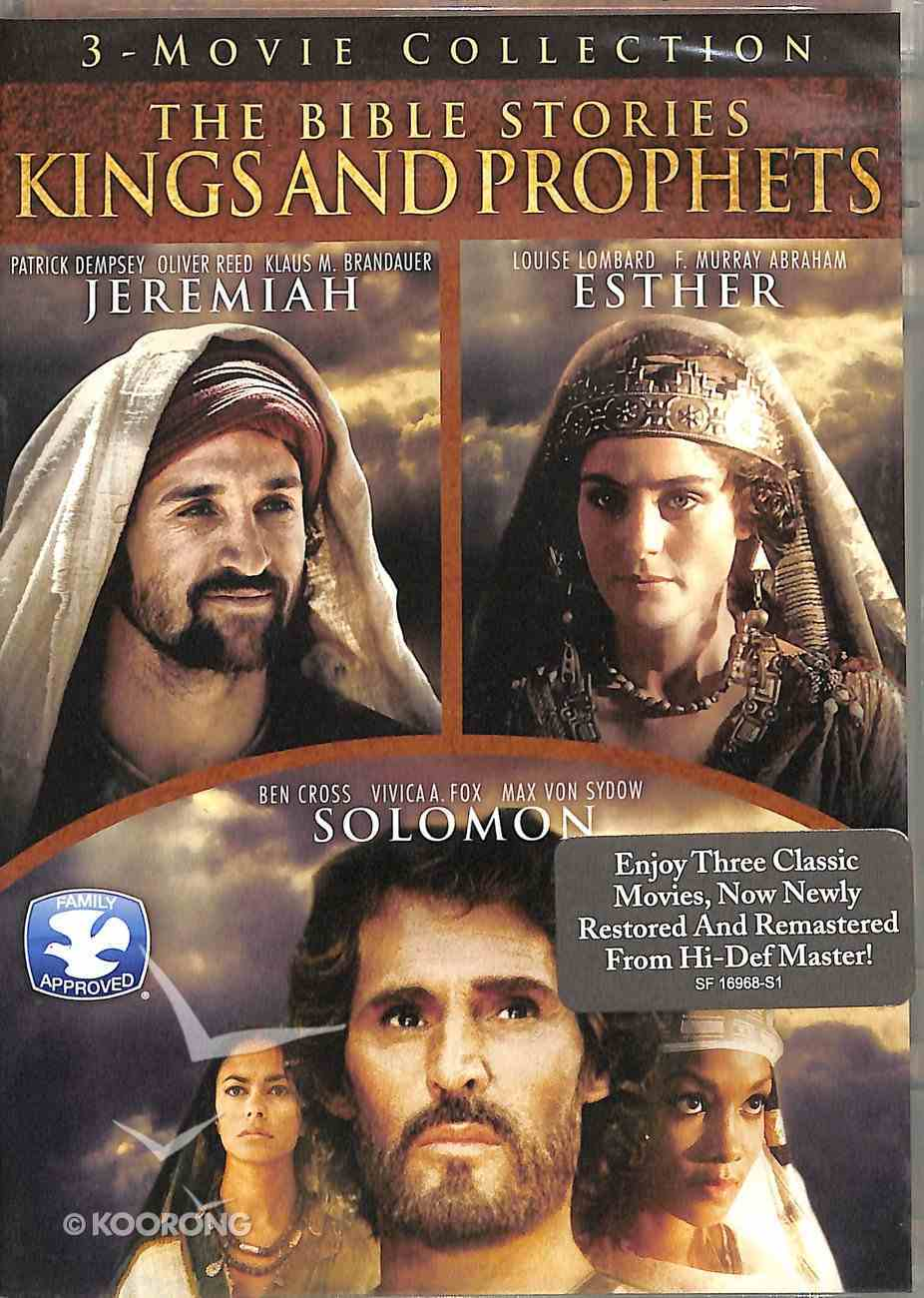 Kings & Prophets (Jeremiah, Esther, & Solomon) (Time Life Bible Stories Dvd Series) DVD