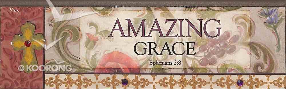 Plaque Simple Harmony: Amazing Grace (Eph 2:8) Plaque