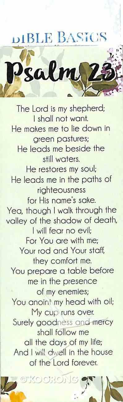 Psalm 23 (10 Pack) (Bible Basics Bookmark Series) Stationery