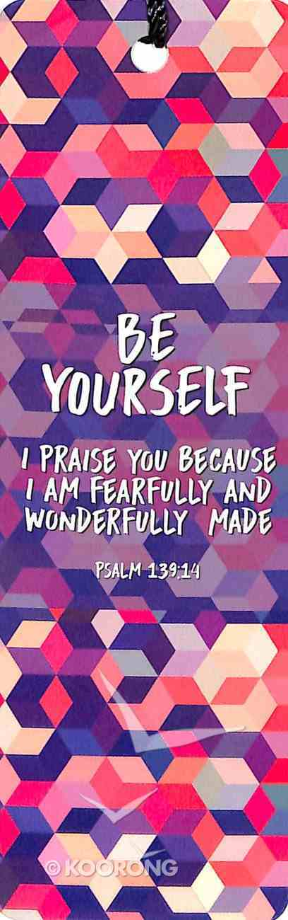 Bookmark With Tassel: Be Yourself - Psalm 139:14 Stationery