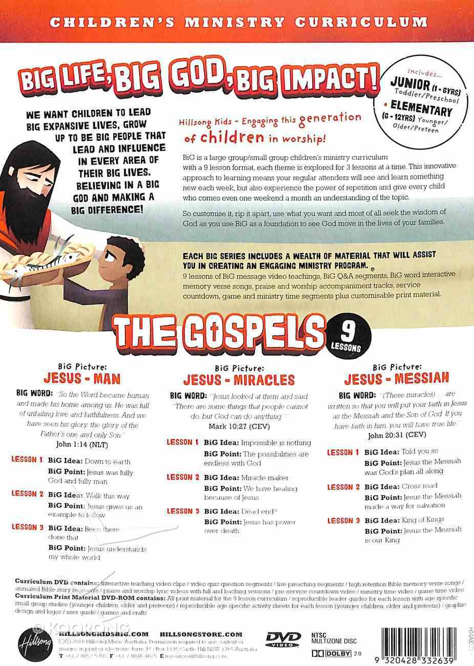 Gospels, the - Man, Miracles, Messiah (Hillsong Kids Big Curriculum Series) Pack