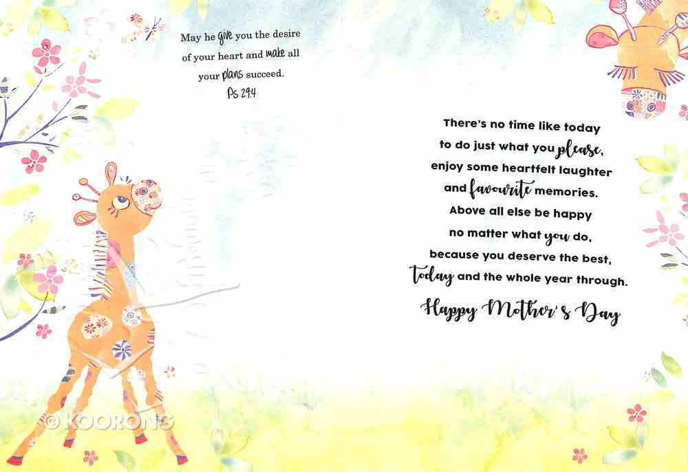 Mother's Day (Giraffes) Cards