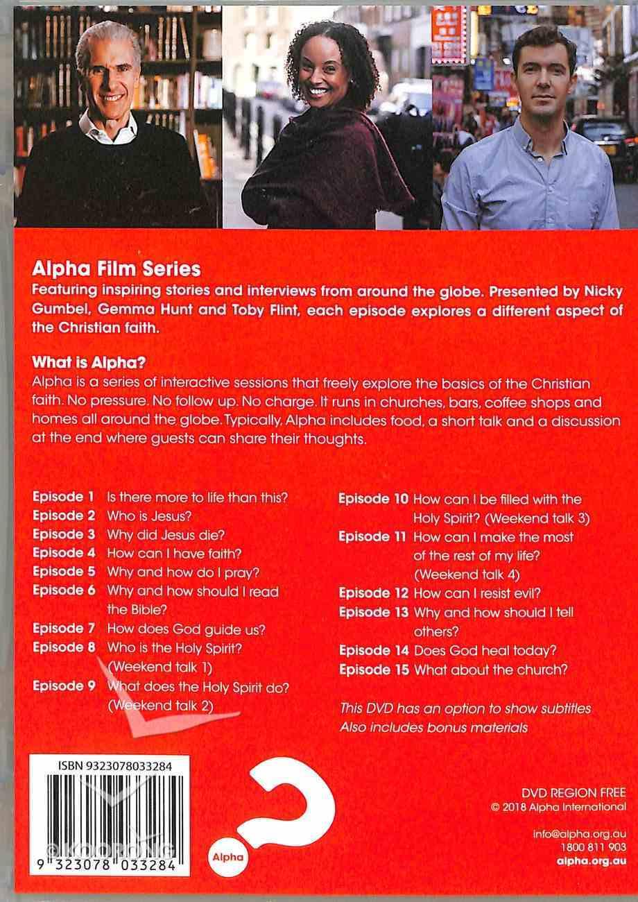 Alpha Film Series 5 DVD Set (2018) (Alpha Course) DVD