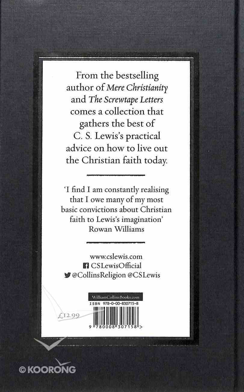 How to Be a Christian: Reflections & Essays Hardback