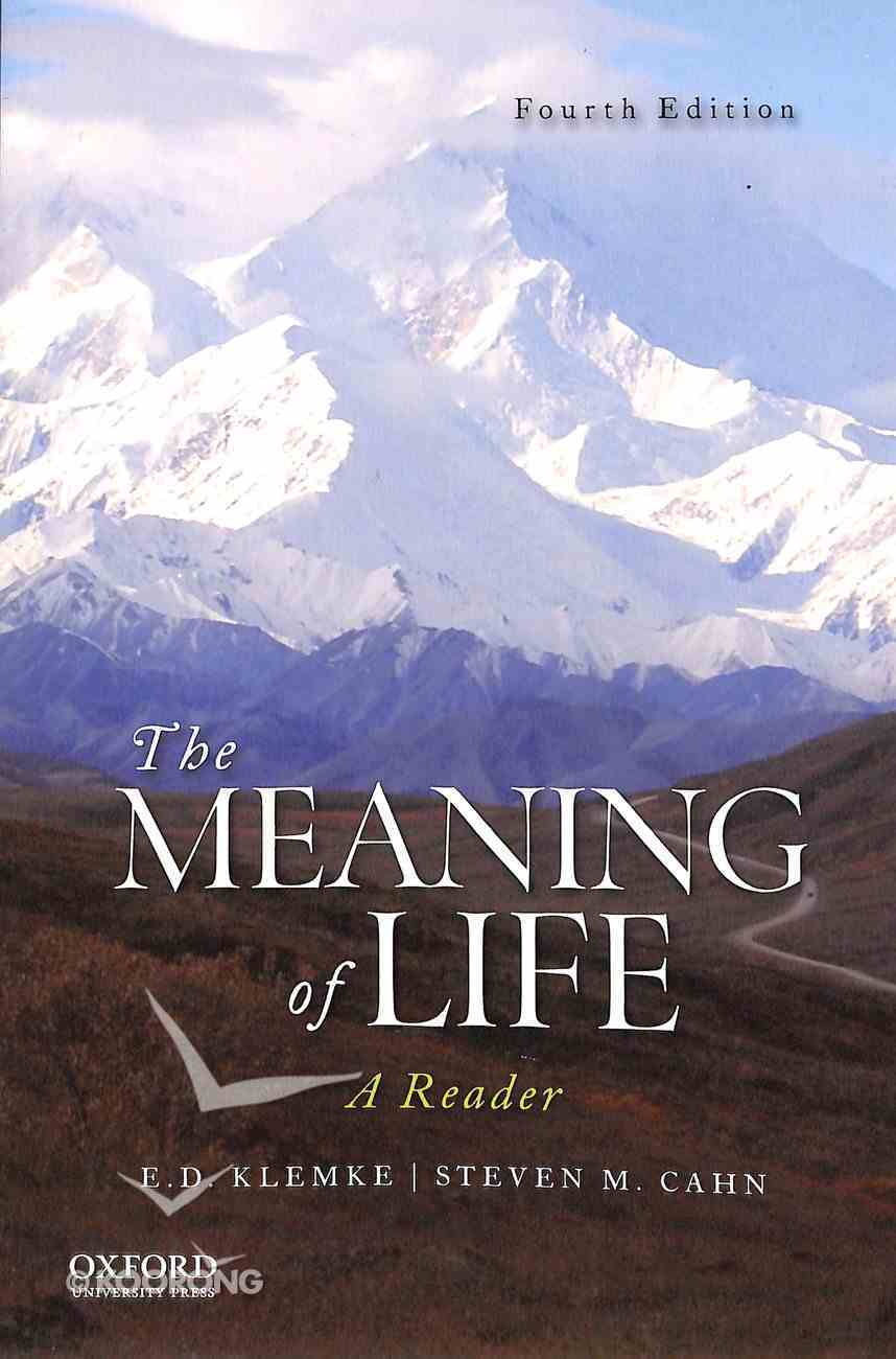 The Meaning of Life (4th Edition) Paperback