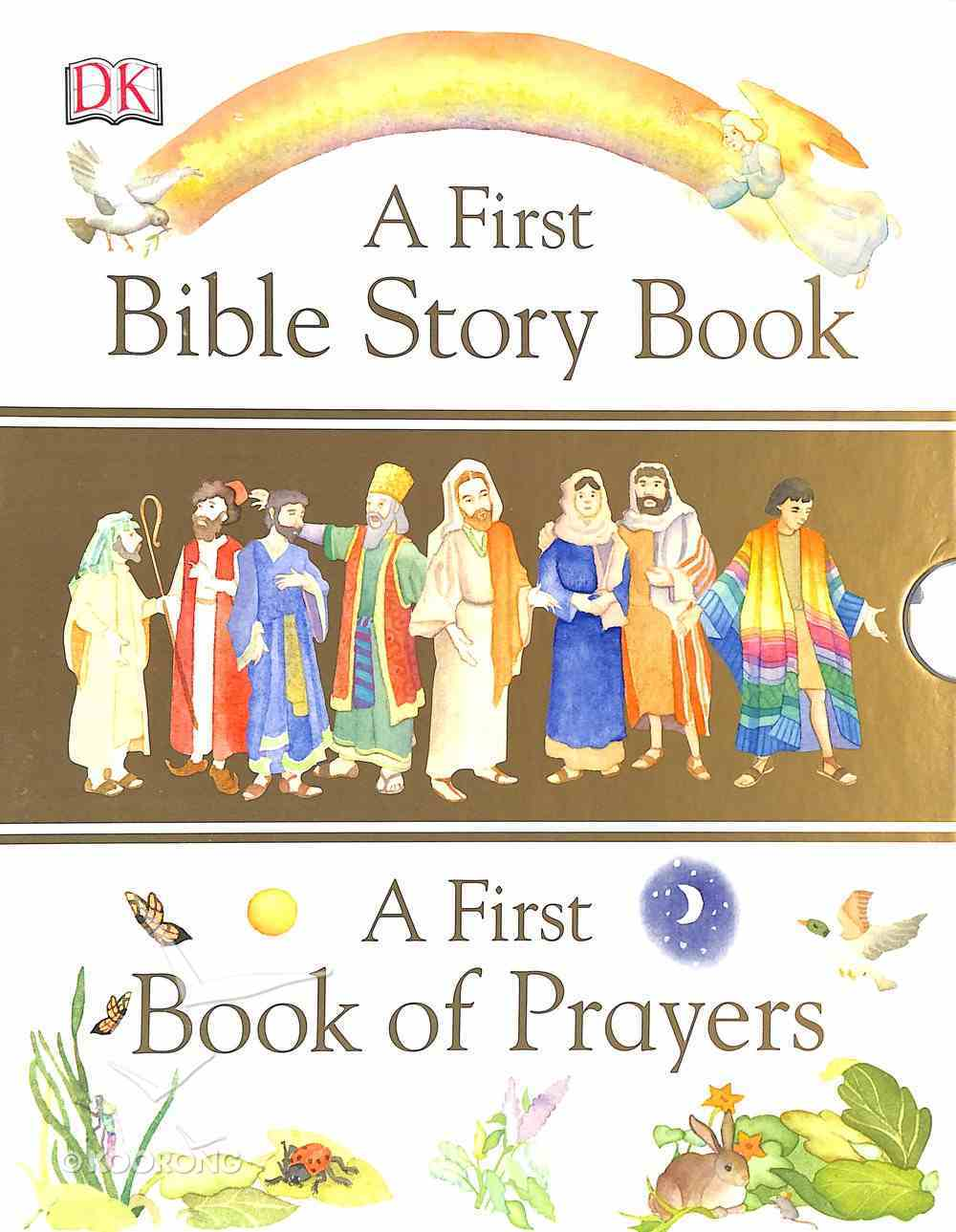 A First Bible Story Book: And a First Book of Prayers Paperback