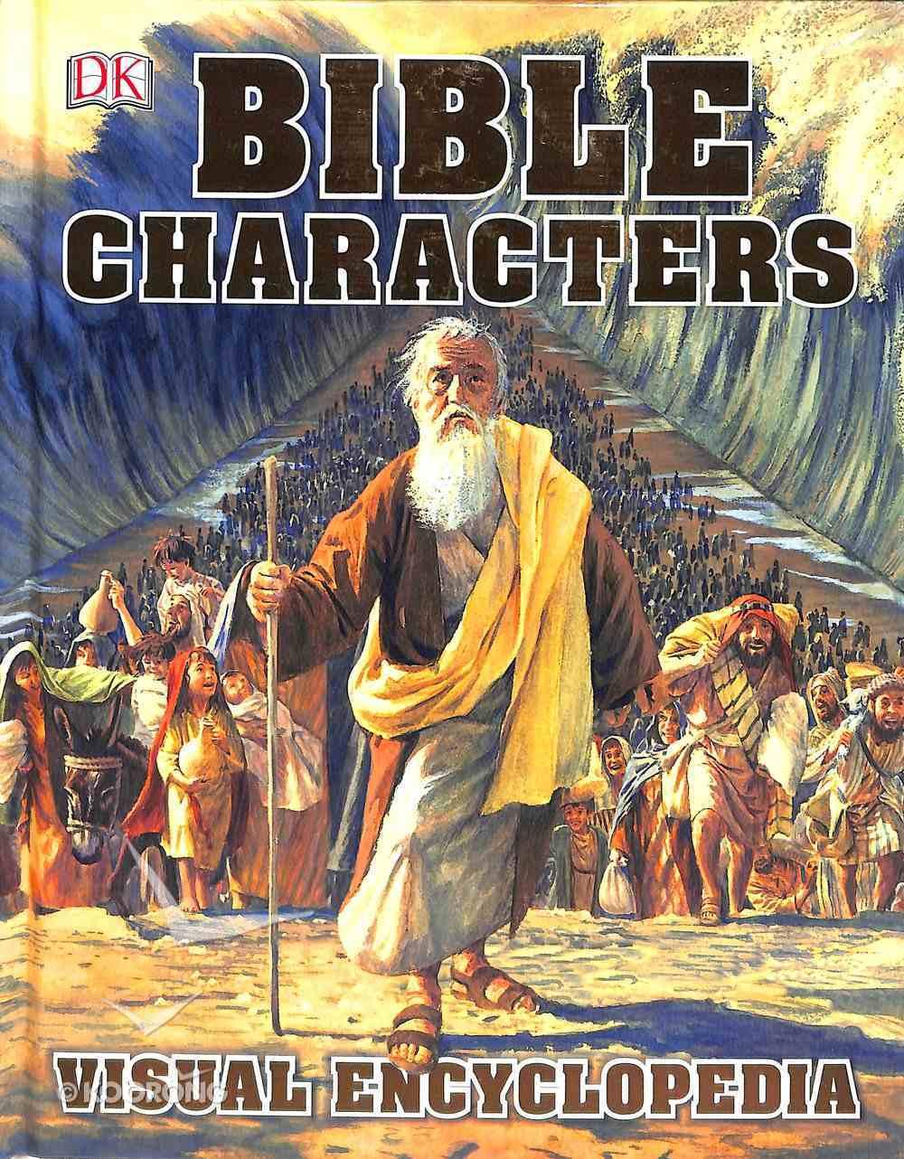 Bible Characters Visual Encyclopedia Hardback