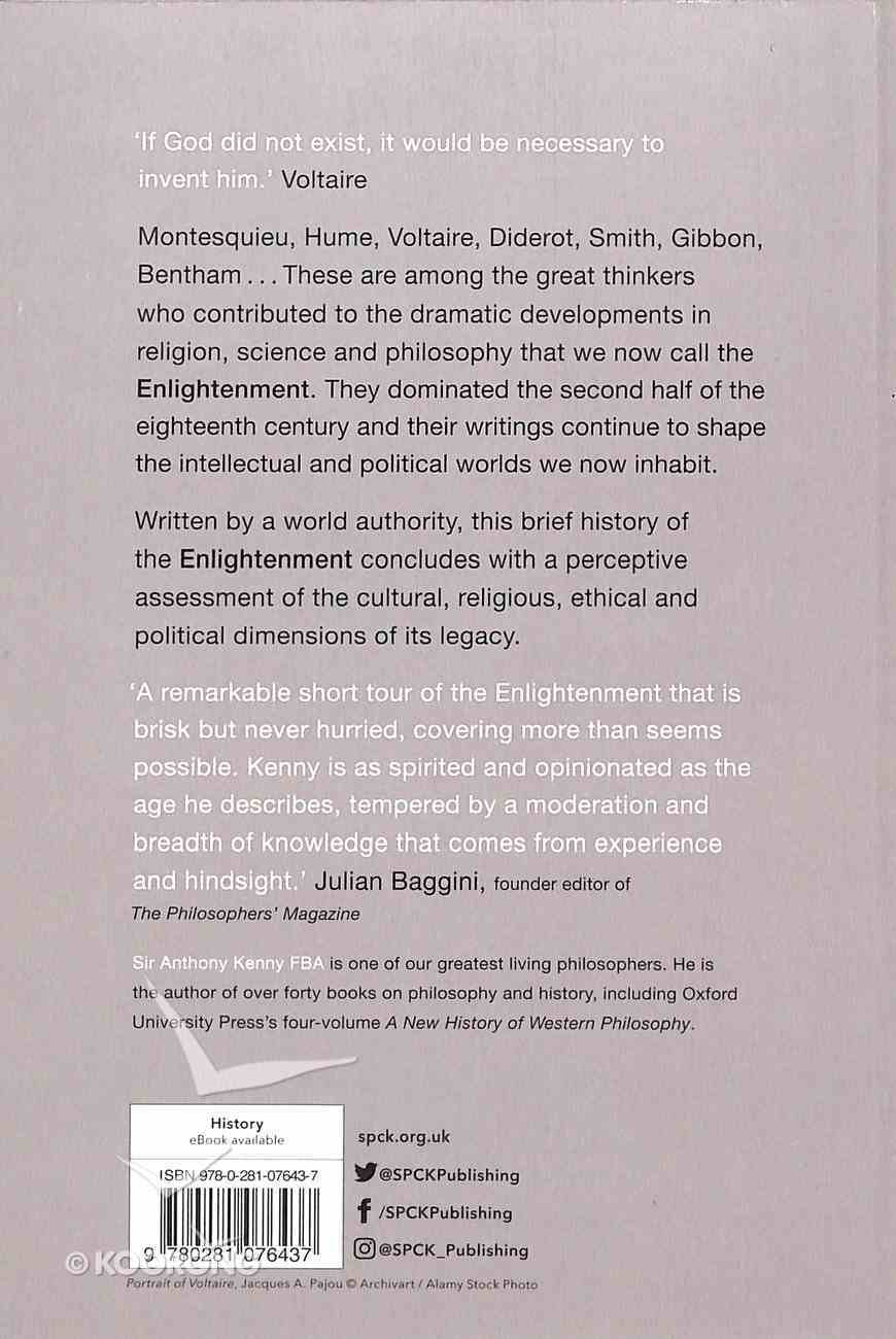 The Elightenment (A Very Brief History Series) Paperback