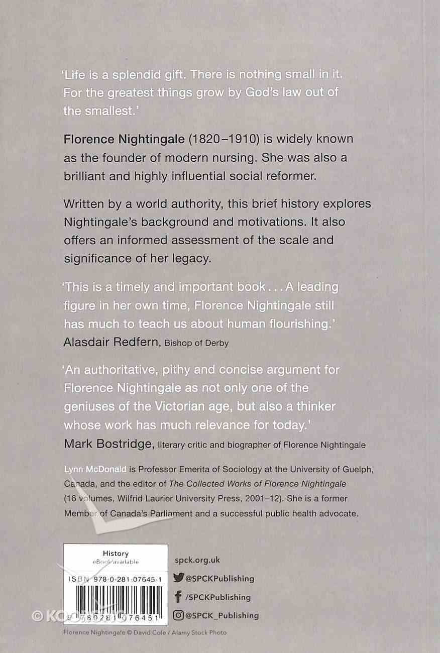 Florence Nightingale (A Very Brief History Series) Paperback
