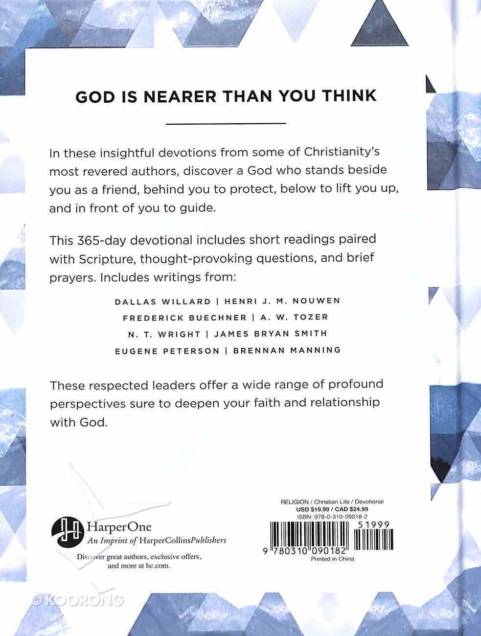Faith That Matters: 365 Devotions From Classic Christian Leaders Hardback