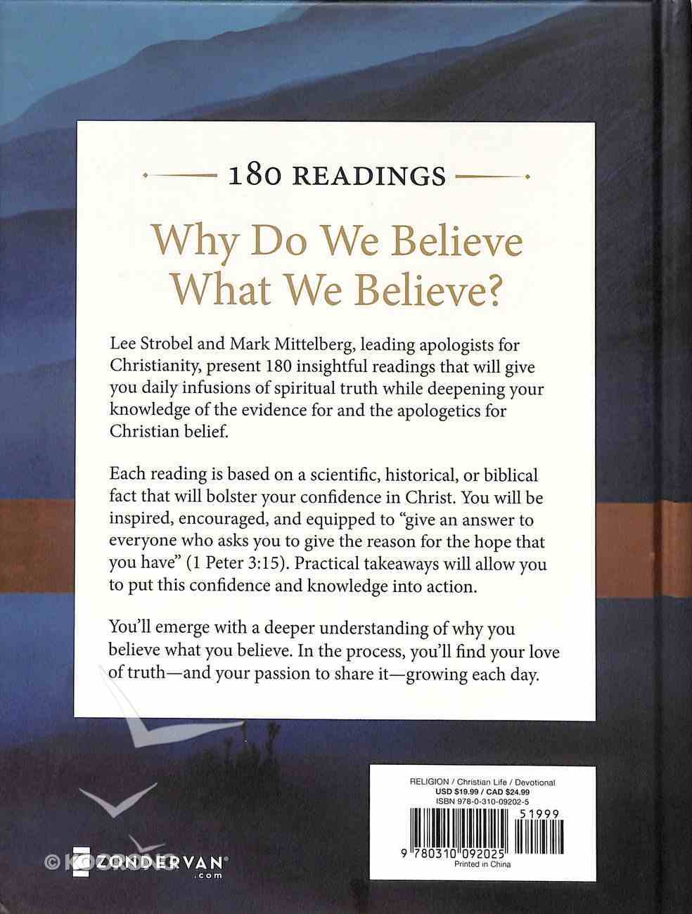The Case For Christ Daily Moment of Truth Hardback