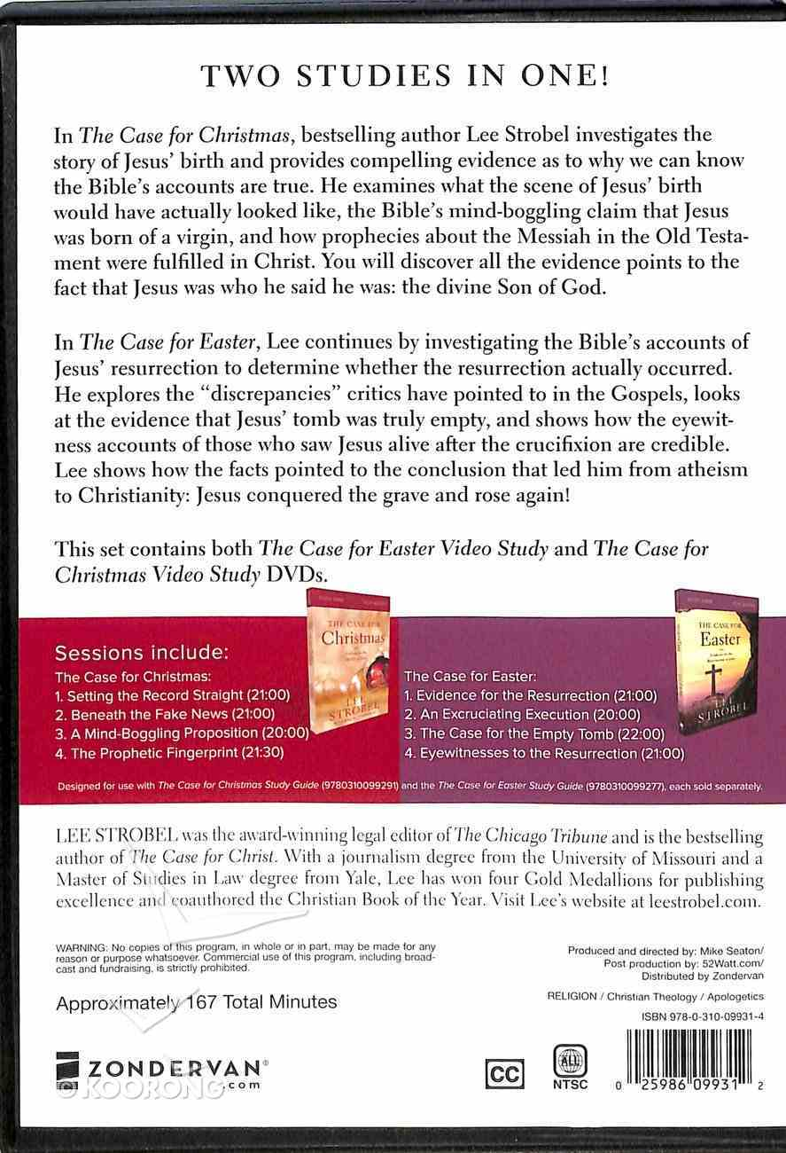 Case For Christmas, The/ Case For Easter, the (Study Guides With Dvd) Pack