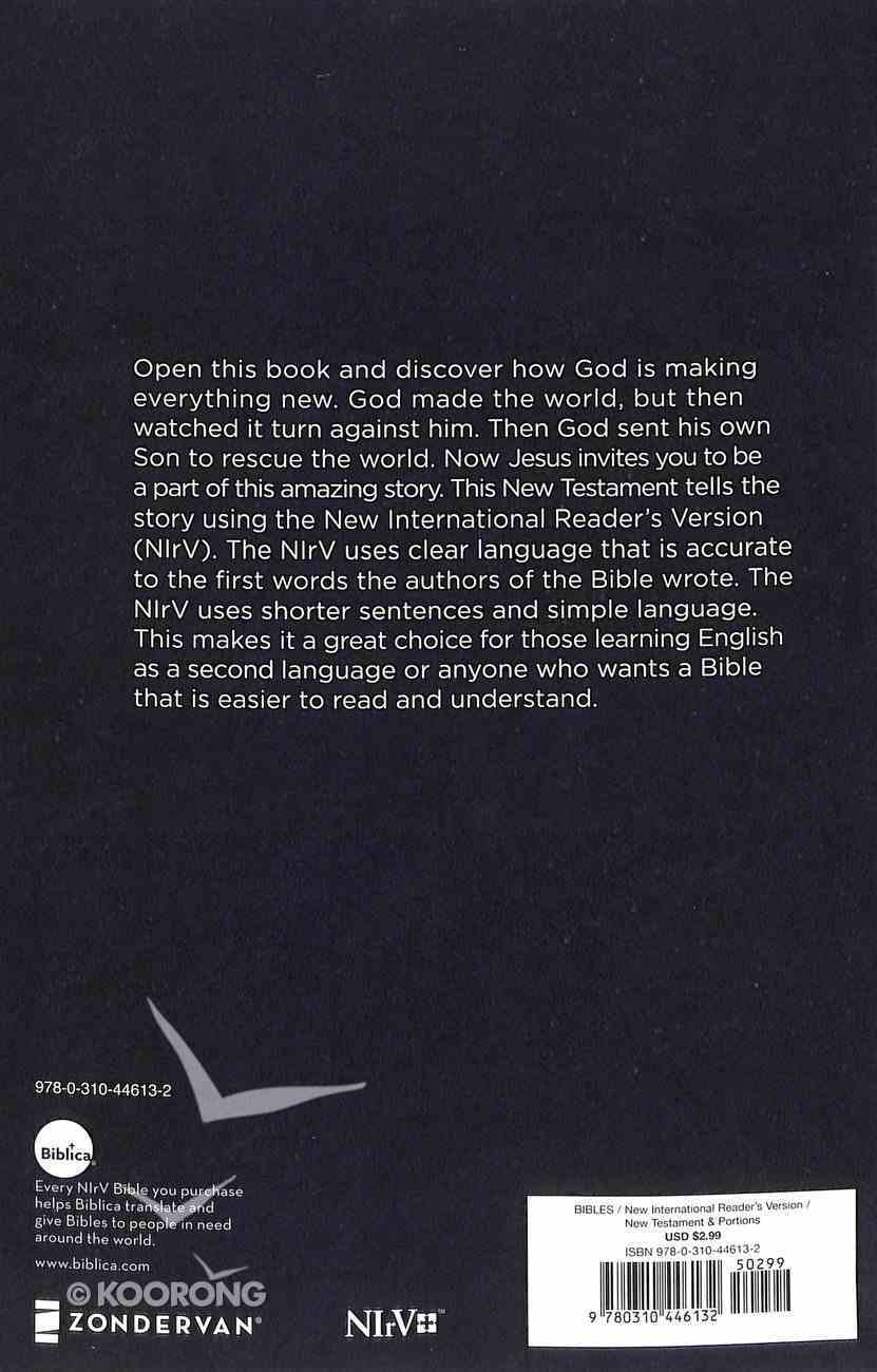 NIRV Outreach New Testament Blue (Black Letter Edition) Paperback