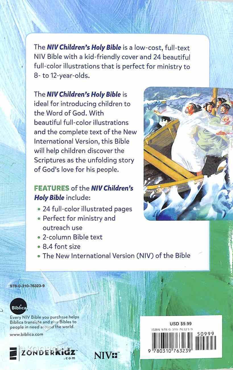 NIV Children's Holy Bible (Black Letter Edition) Paperback