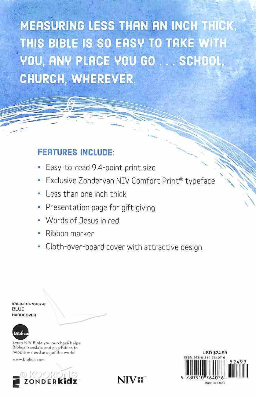 NIV Bible For Kids Blue (Red Letter Edition) Hardback