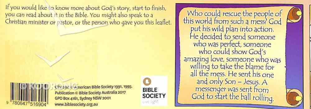 God's Story - Start to Finish Booklet