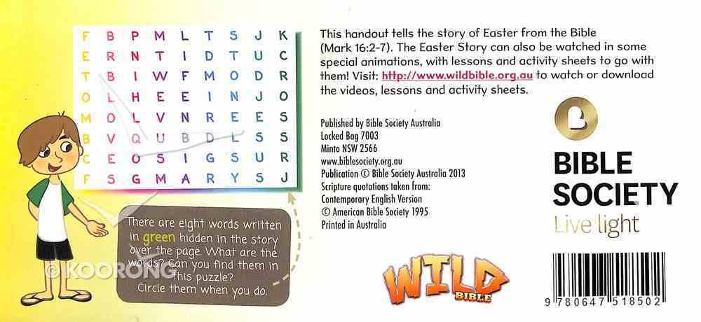 Jesus is Alive - Children's Easter Leaflet (Cev) Booklet