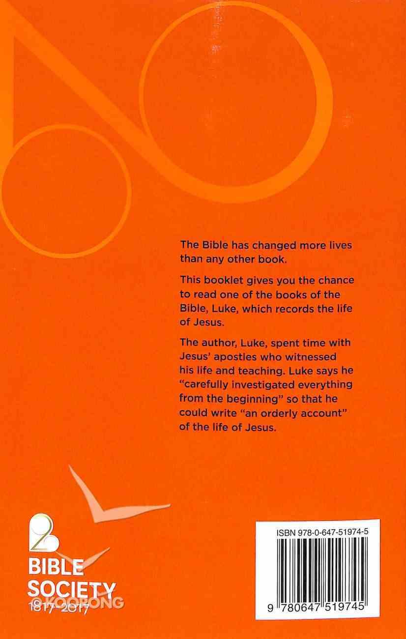 NIV BSA Bicentennial Story of Jesus as Told By Luke Booklet