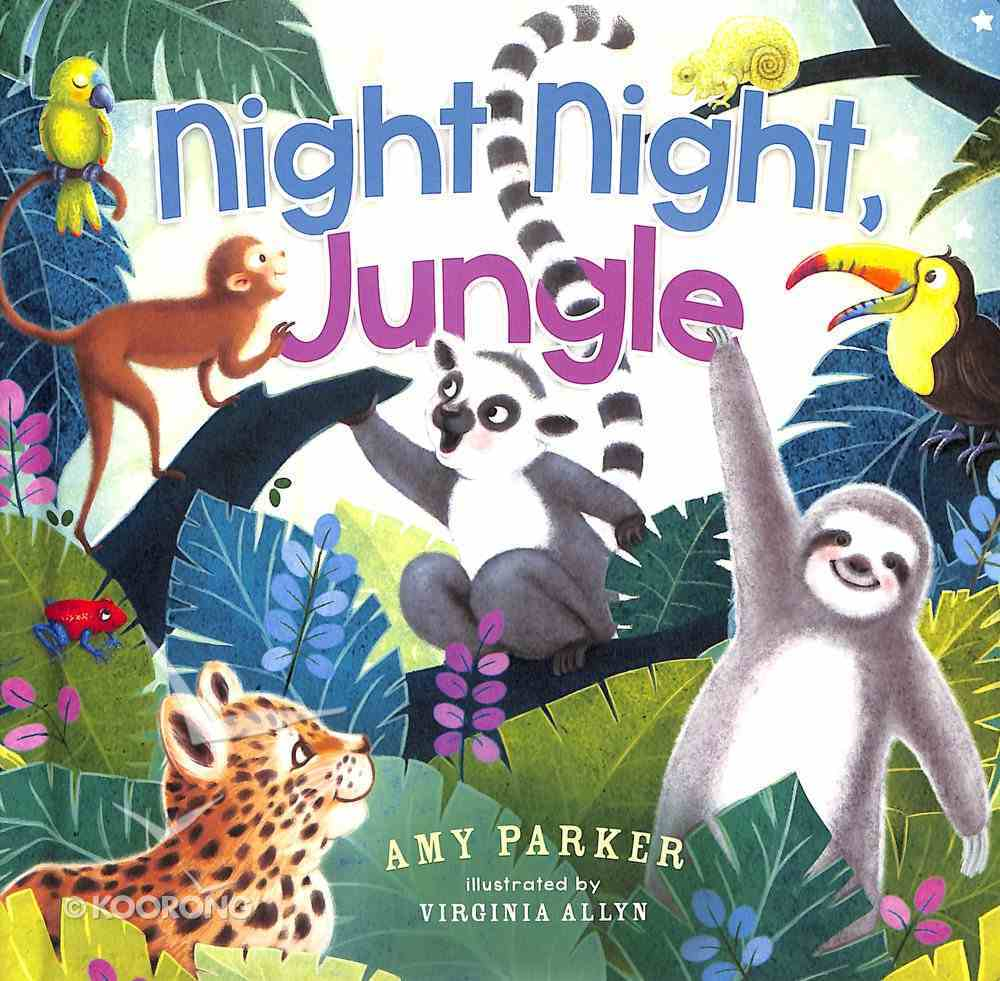Night Night, Jungle (Night, Night Series) Board Book