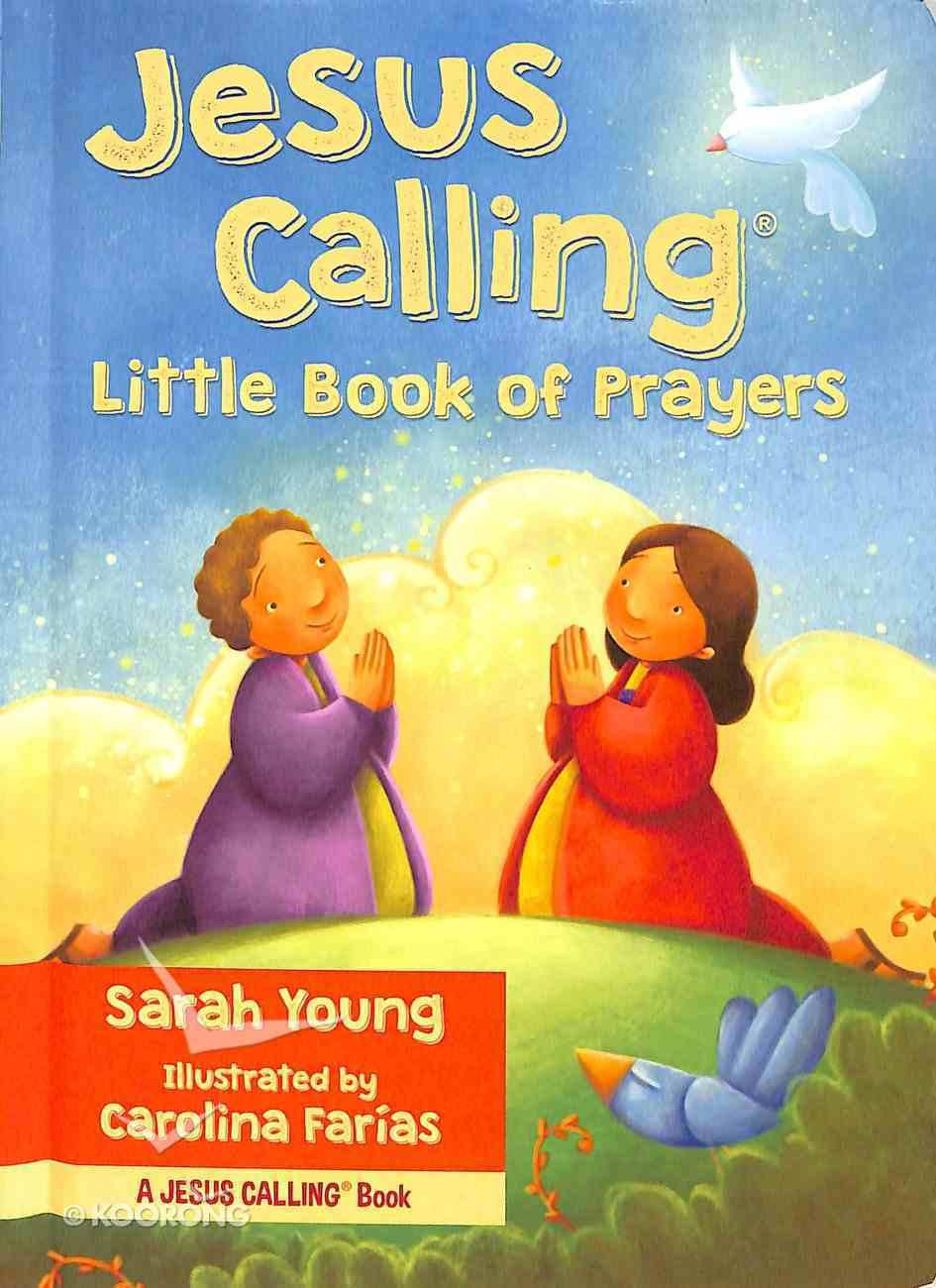 Jesus Calling Little Book of Prayers Board Book