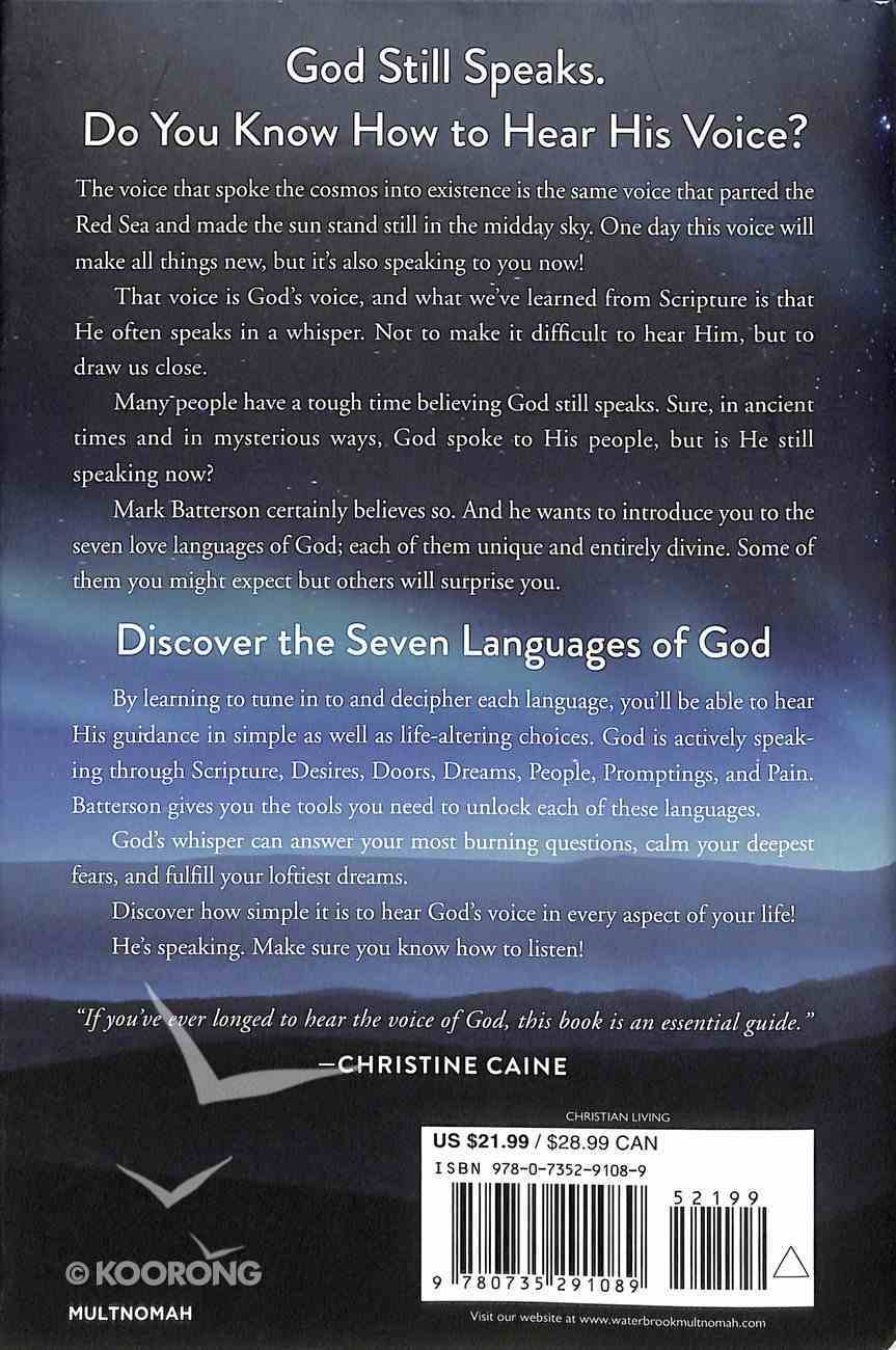 Whisper: How to Hear the Voice of God Hardback