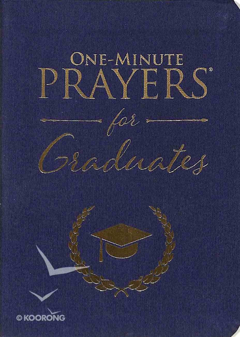 One-Minute Prayers For Graduates Imitation Leather