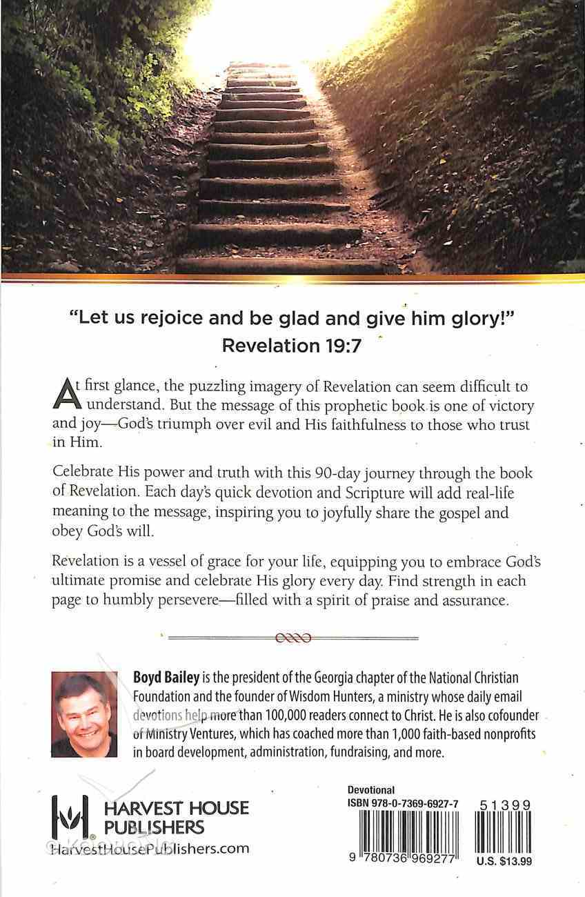 Through Revelation: A 90-Day Devotional (Two Minutes In The Bible Series) Paperback
