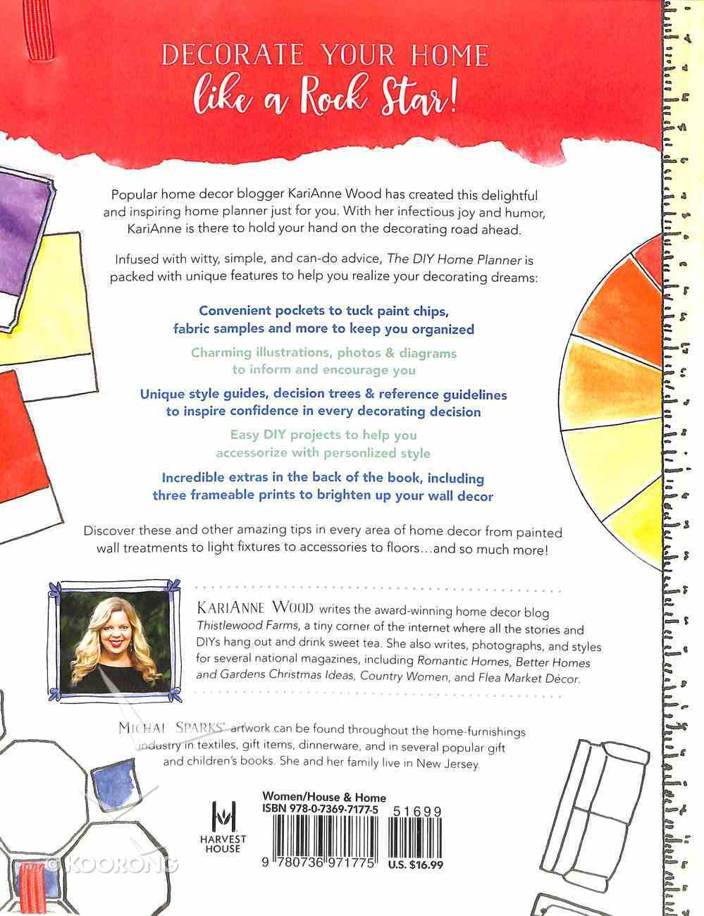 The Diy Home Planner: Practical Tips and Inspiring Ideas to Decorate It Yourself Paperback
