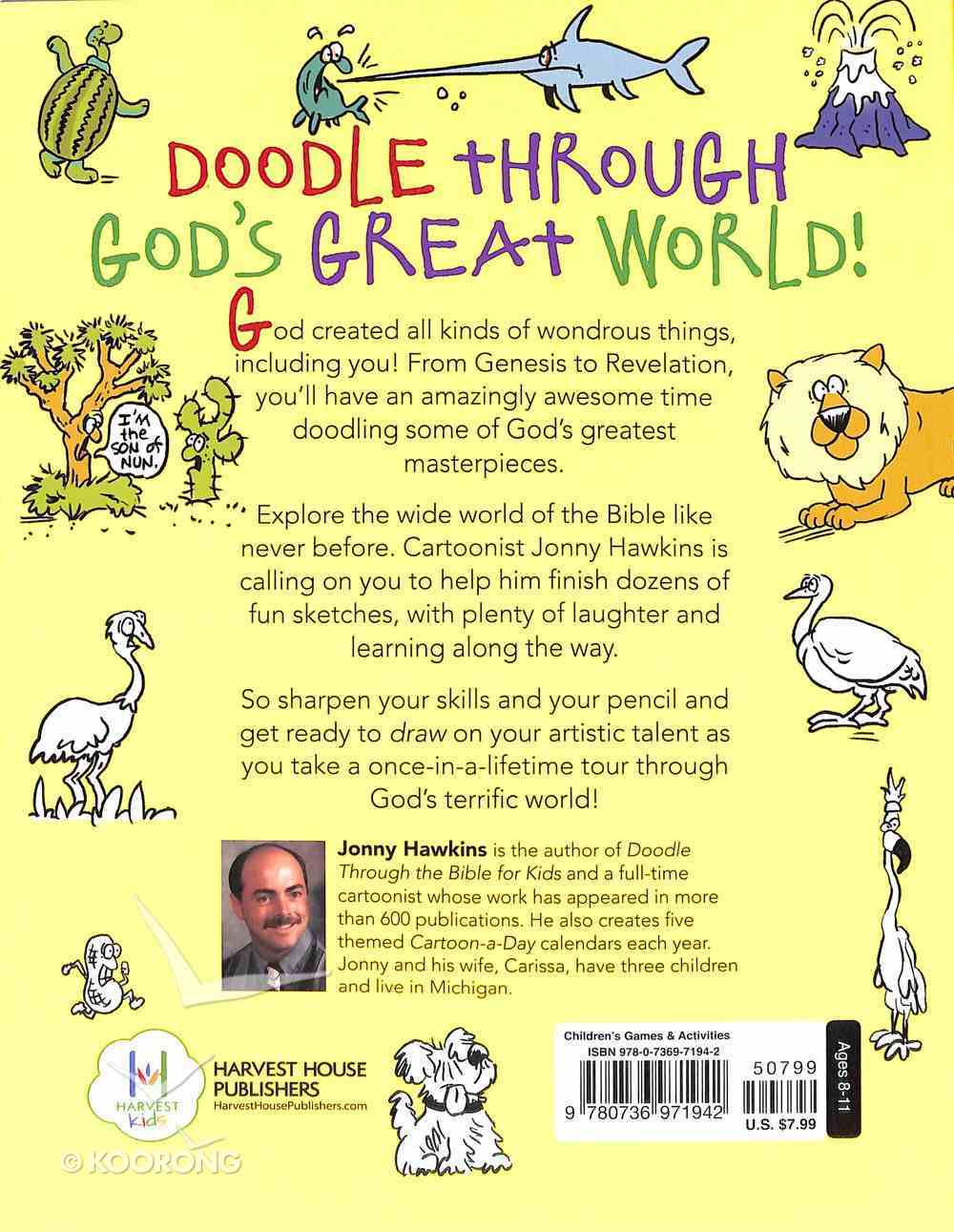 Doodle Through God's Creation For Kids Paperback