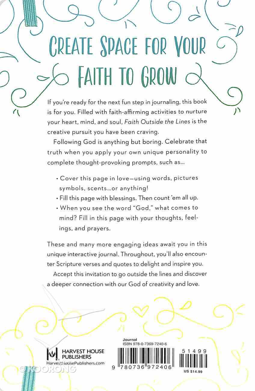 Faith Outside the Lines: More Than Just a Journal For the Creative Believer Paperback