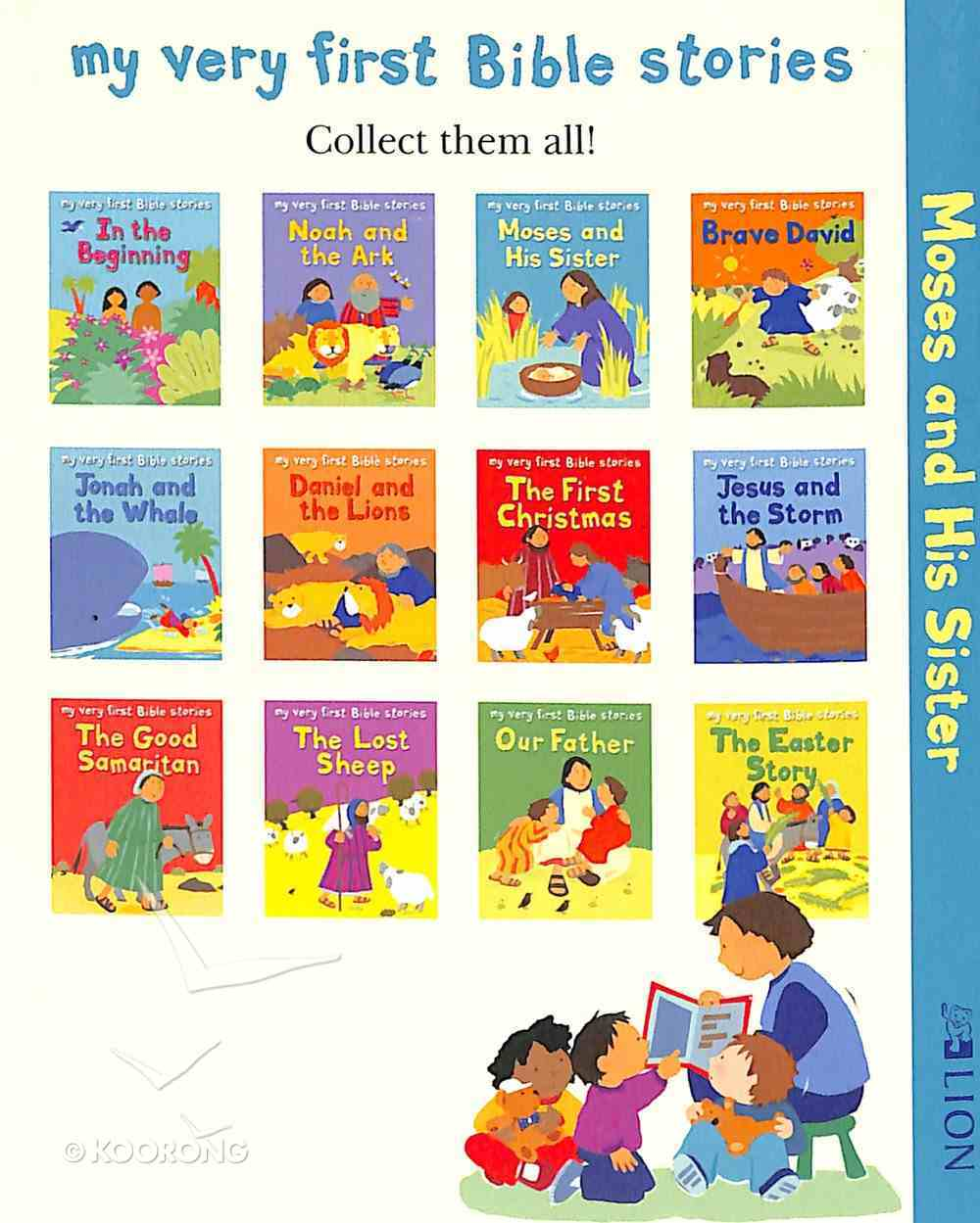 Moses and His Sister (10 Pack) (My Very First Bible Stories Series) Paperback