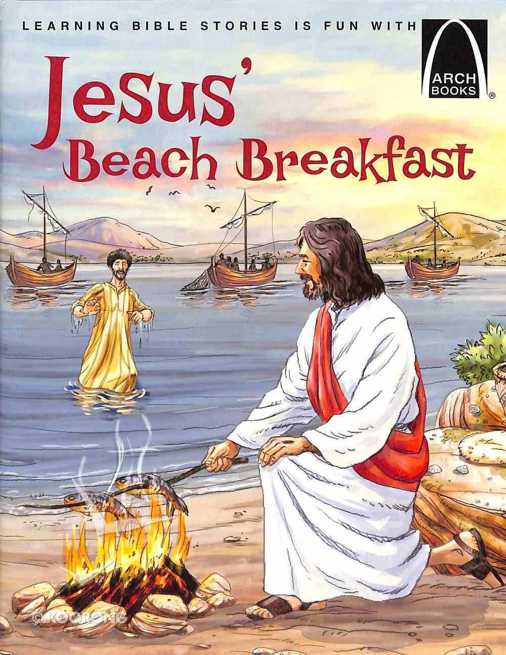 Jesus' Beach Breakfast (Arch Books Series) Paperback