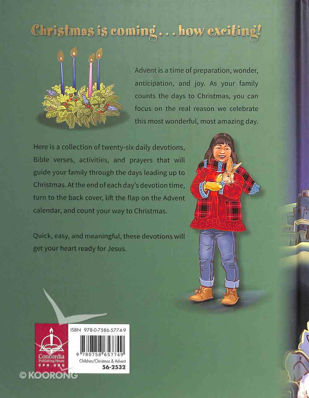Counting to Christmas: Family Advent Devotions Hardback
