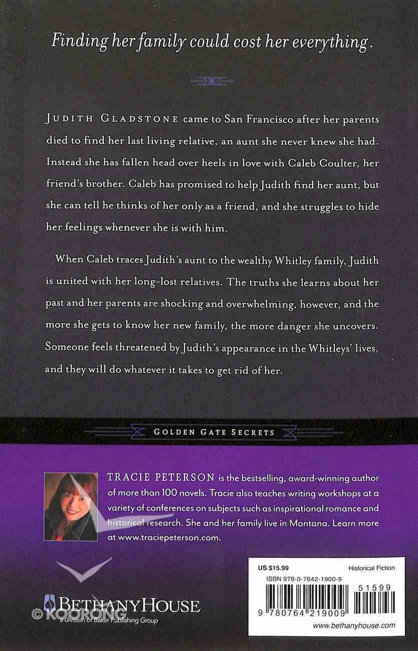 In Dreams Forgotten (#02 in Golden Gate Secrets Series) Paperback