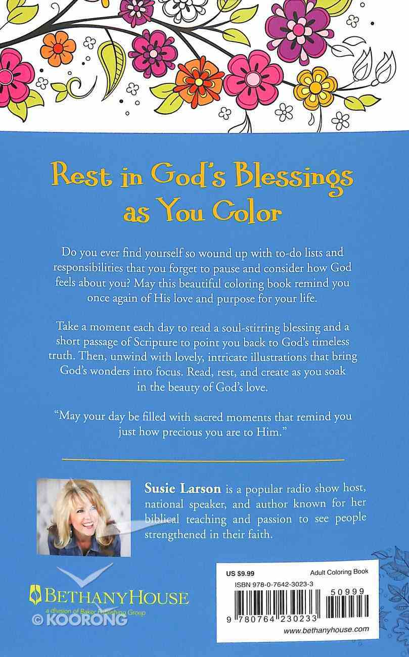 Bountiful Blessings - a Creative Devotional Experience (Adult Coloring Books Series) Paperback