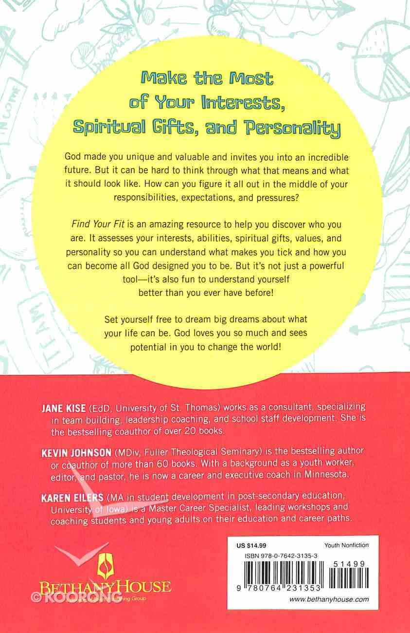 Find Your Fit: Unlock God's Unique Design For Your Talents, Spiritual Gifts, and Personality Paperback