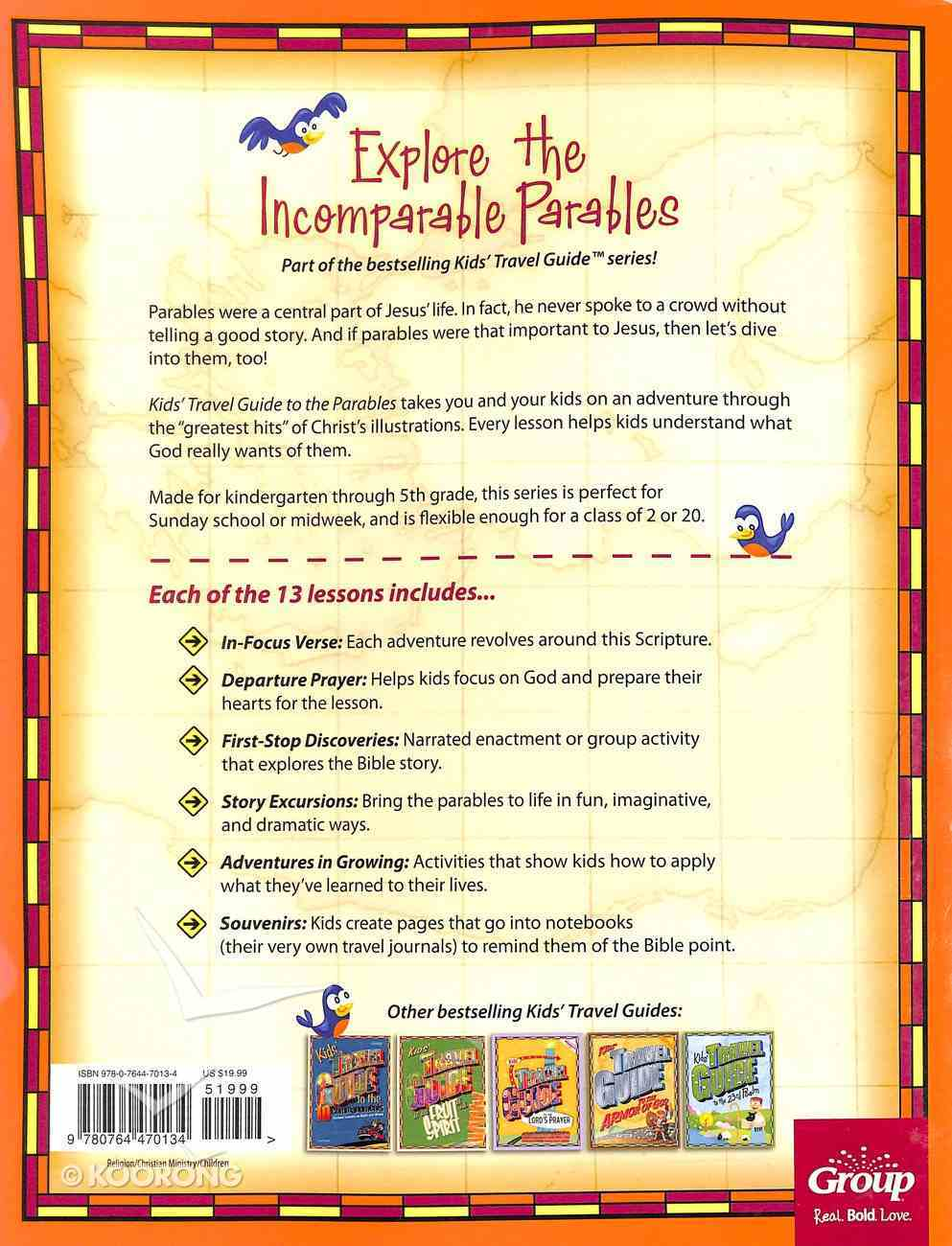 Kids' Travel Guide to the Parables Kids' Paperback
